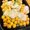 つぶ貝とひよこ豆のエスカルゴバターグリル
