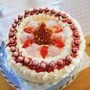 三男の誕生日🎂広島名物と岡山名物との異色のコラボケーキ!?
