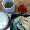 天ぷらとお茶漬け