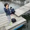 江戸川放水路「マルヤ遊船」さんで子連れハゼ釣りに興じてきました、の巻。