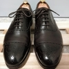 中古のエドワードグリーンのカドガンを染め替えしてみた〜中古革靴の染め替え〜