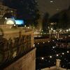 ミラコスタの廊下からのパークの眺め夜~スペチアーレバルコニールーム(ピアッツアビュー)までの道のり ~2016年3月・Disney旅行記 東京ディズニーシーホテルミラコスタ紹介【4】