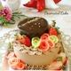 ダブルチョコレートムースケーキ&クリスチャンラッセン絵画クッキー!