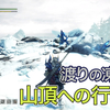 【MHWI】「渡りの凍て地」山頂への行き方を紹介!