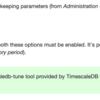 Zabbix4.2でデータベースにTimescaleDBを使ってみた