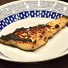 豊洲の「米花」でまながつお西京焼き、かぼちゃとナスの炒めもの、桜海老のかき揚げ、辛子ナス。