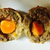 冷凍卵でつくるスコッチエッグ