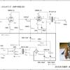 50BM8シングルステレオアンプ回路図