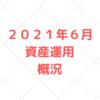 【資産運用 公開】2021年6月 ほったらかし運用で堅実な資産形成を目指す