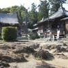 奇岩の境内がある14番札所常楽寺
