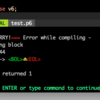 vimでperl6のsyntax check
