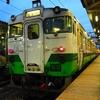 会津若松駅でキハ40系に再会^^…キハ47&40系、251&185系 名残の鉄旅⑱