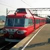台風の影響で名鉄全線運休記念、7500系を中心に名鉄電車大放出