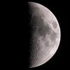 「月(月面エックス)」の撮影 2021年2月19日(機材:ミニボーグ50FL、E-PL5、ポラリエ)
