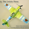 1/72 Scale エクセモラーヌ制作完成 w/イゼッタ Hexe Morene (Morane Saolnier)/w Izetta paint and build