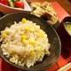 生のトウモロコシで作るトウモロコシご飯は神がかって美味しいです。