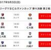 JリーグYBCルヴァンカップ準々決勝アウェイ第2戦・FC東京戦
