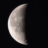 「月」の撮影 2019年12月20日(機材:ミニボーグ50FL、E-PL5、ポラリエ)