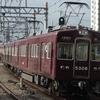 大阪メトロ、堺筋線のラッピング編成を撮る。