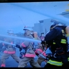 消防出初式を見た(テレビで)