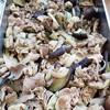 豚肉と茄子、大葉炒め