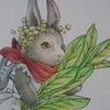 08 ハーブ園のゼンマイ兎