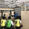 ゴール型サッカーによる課題発見ゲーム~LIVE中継による分析~