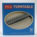 PECO Nゲージ用ターンテーブル(NB-55) 寸法 ~おすすめ転轍機と電動化(EX26210)について