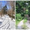追分の真冬と真夏