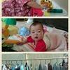 【三女】0歳9ヶ月/定期健診日、モモ初めての胃腸炎。