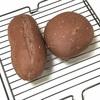 ココアクルミパン、ポテトグラタンと豆腐玉子