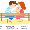 生後4ヶ月〜親の胸ぐらを掴む健やかな子に成長