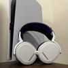 PS5デザイン 3Dオーディオ対応 優秀な装着感 SteelSeries Arctis 7P