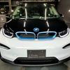 自動車ボディコーティング#140 BMW/i3 ボディ磨き+樹脂硬化型コーティング【Ω/OMEGA】+ウィンドウガラスウロコ取り撥水加工+ホイールコーティング+未塗装樹脂パーツコーティング+革レザークリーニング・保湿トリートメント