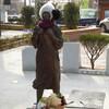 【昌原の風景】「午東洞文化広場」と「人権・自主・平和 誓いの碑」