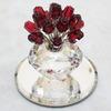 スワロフスキー 「2002年 SCS会員限定 バラと花瓶(10th Anniversary 1987-2002 Vase with Roses)」283394