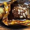 ココスで<国産舞茸とチーズインハンバーグの包み焼き>を食す!