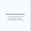 ReactNativeでiOSの動作環境を準備