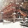 雪景色の世界遺産「平泉」