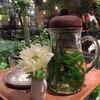 青山フラワーマーケット本店のハーブティーが激美味しかったよ!