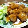 昨日の晩飯 肉団子の甘酢あんかけと中華風コーンスープを作ってみた