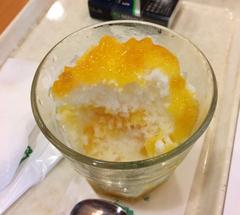 ★マンゴーかき氷