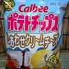 【新商品】ポテトチップス しあわせクリ~ムチ~ズ【期間限定】