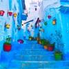 【シャウエン】美しい青の街。