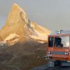 スイスひとり旅 3 朝焼けを望む車窓・絶景のカフェ (動画編あとがき)