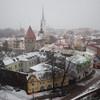 """【エストニア】世界遺産""""タリンの旧市街""""を雪の中散歩してみた。【前半】"""