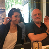 匂いの帝王、ルカテュリン&タニアサンチェスさんとランチ/渡欧11日目@アテネ!