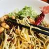 痺れ好きもきっと納得の味/東京・池袋/香家 エソラ池袋店/汁なし坦々麺(ランチセット)