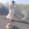 愛犬とお散歩ずる前田こころちゃんがお金持ちの家のお嬢さんにしか見えない件