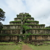 世界一周32日目 カンボジア(2) ~絶景!ずっと行きたかった、コーケーとベンメリア~~